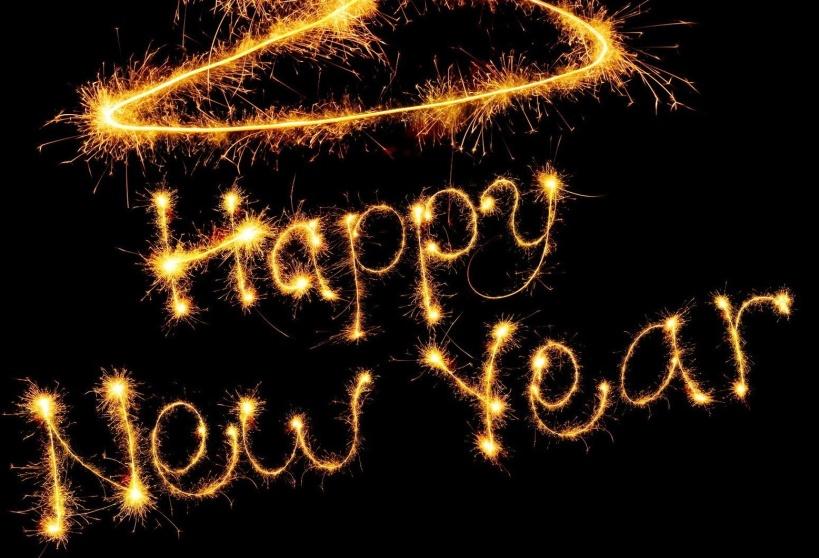Happy New Year 2014 HD Wallpaper