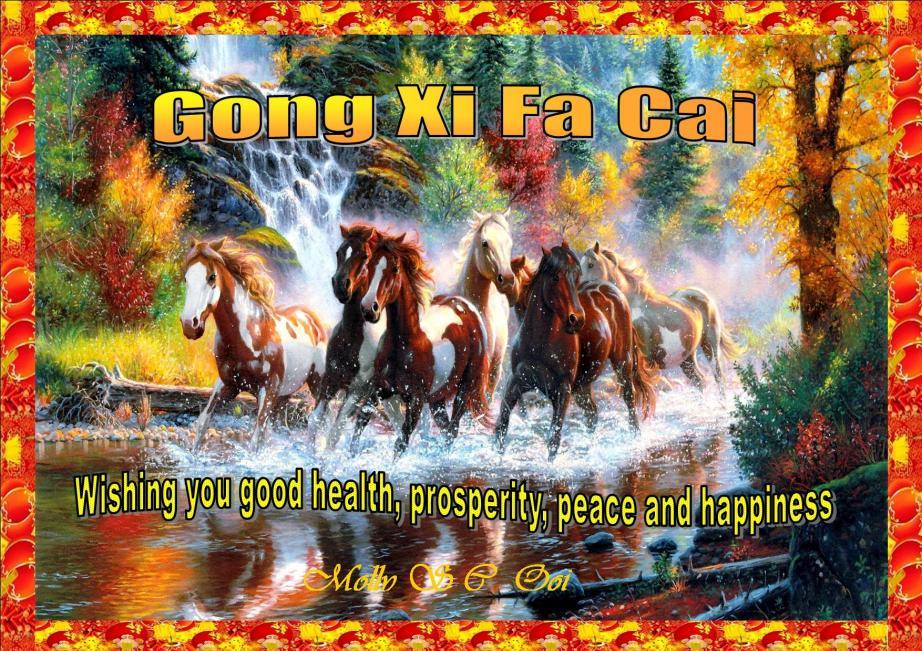 cny horses