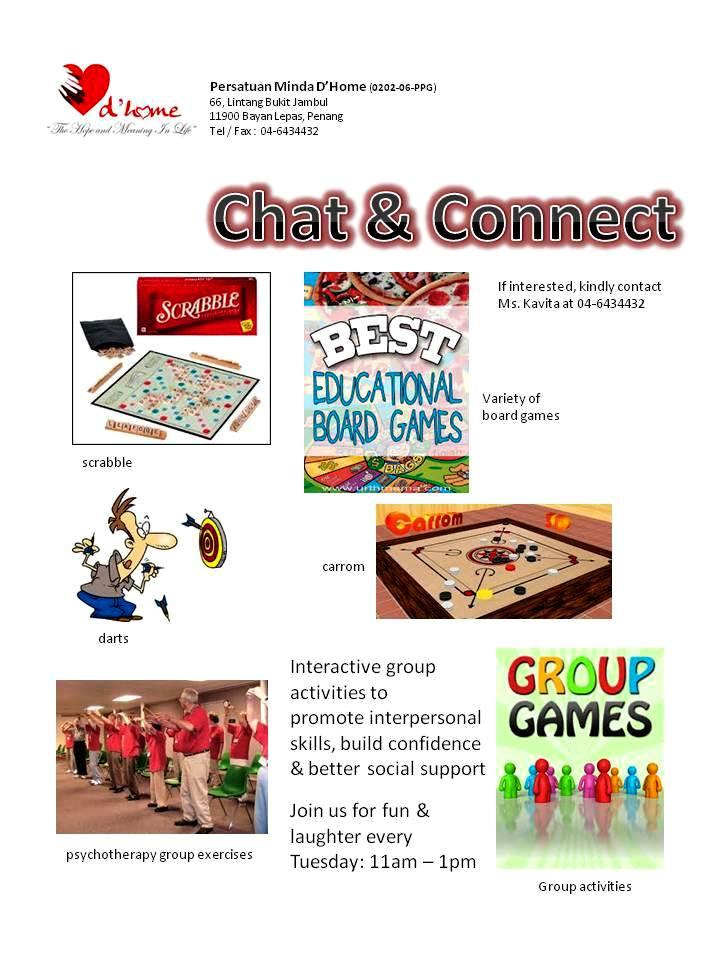 ChatnConnect leaflet
