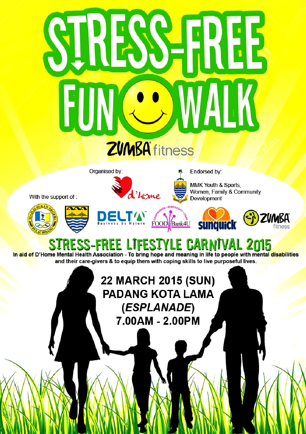 Fun Walk & Zumba brochure and form Page 1