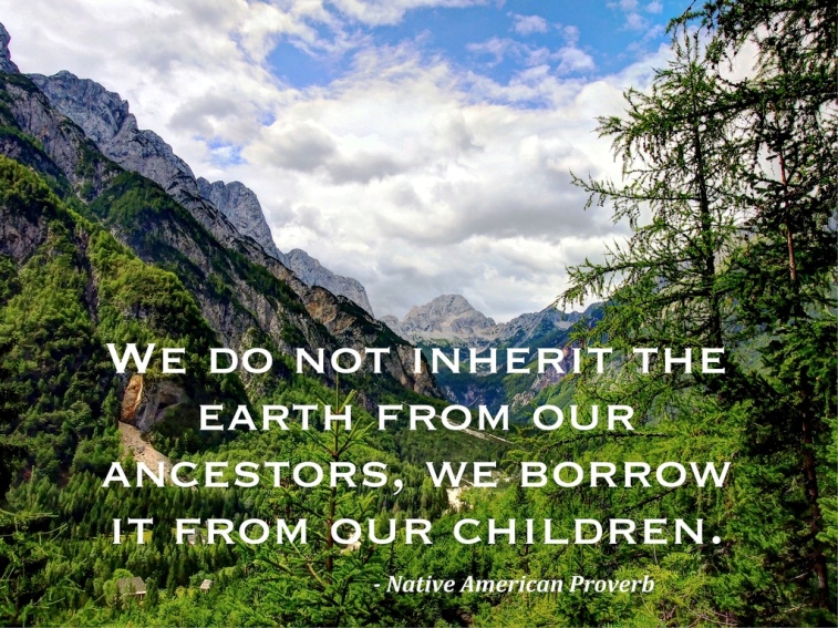 we borrow earth