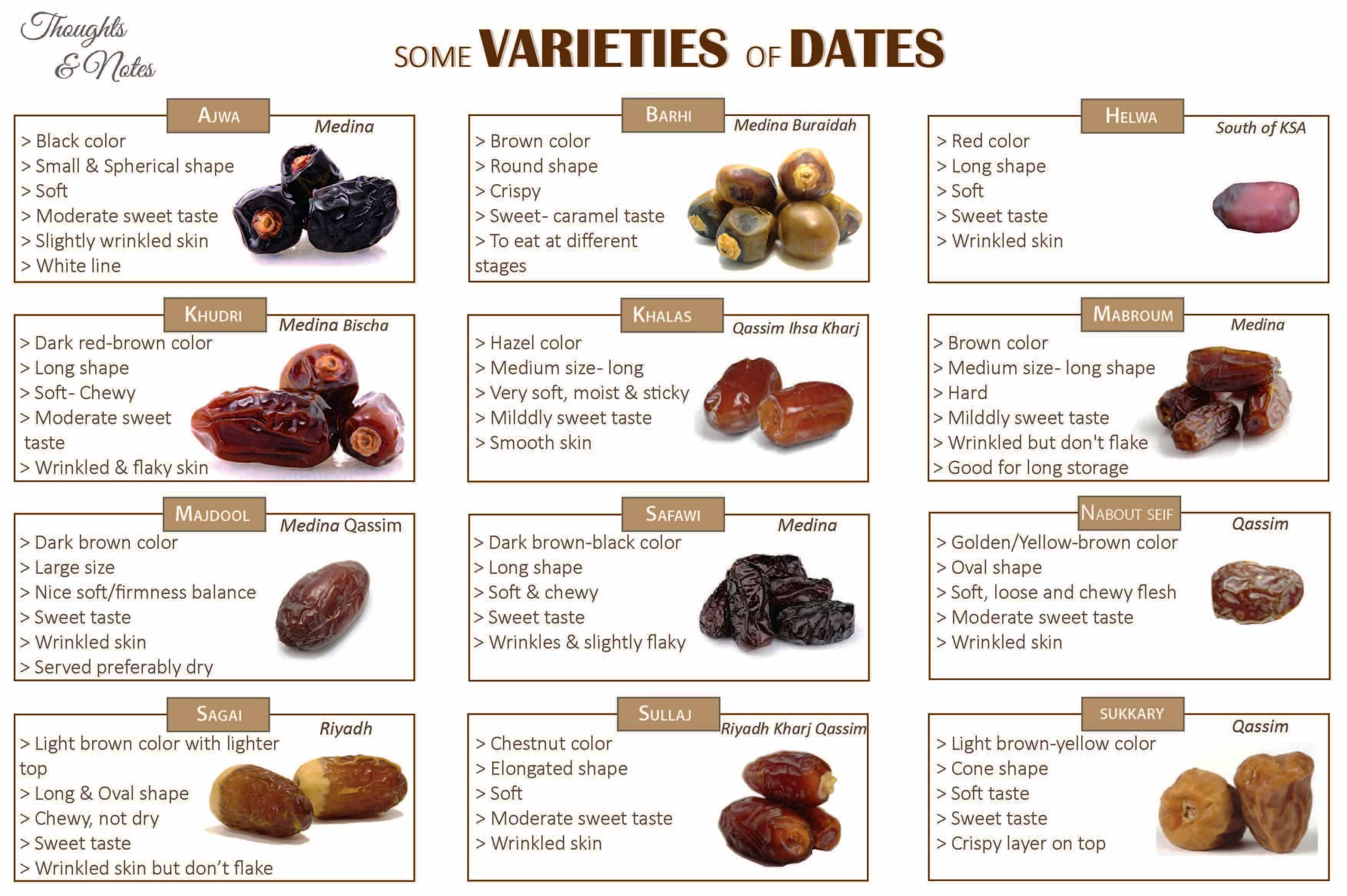 types of dates | Taman Sri Nibong RA Log